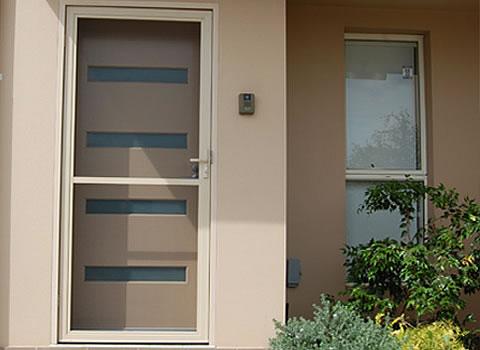 ... Hinged Flyscreen Door Double Flyscreen & Fly Screens Brisbane | Retractable Insect Screen Doors pezcame.com