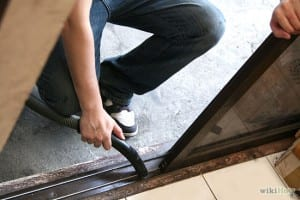 cleaning-and-lubricating-sliding-door-track