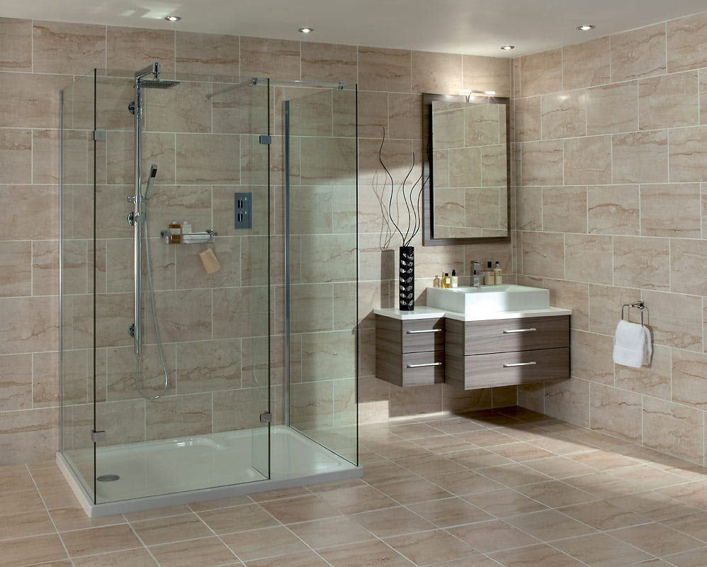 Infinity Curved Walk In Shower Enclosure | American HWY