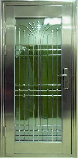 what are your security doors made of